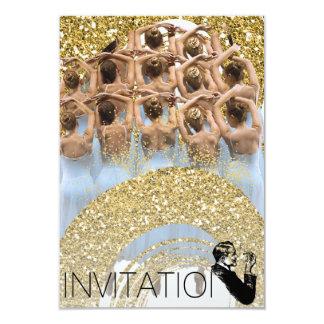 Golden Dancer Classic Ballet Festival Invitation