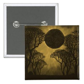 Golden Dark Forest Eclipse Button