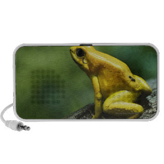 Golden Dart Frog Notebook Speakers