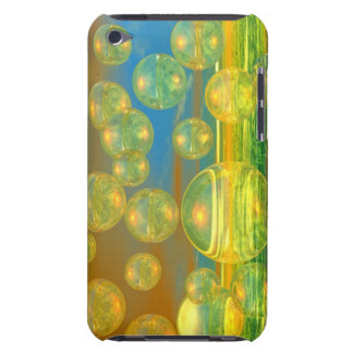 Golden Days - Yellow & Azure Tranquility iPod Touch Case