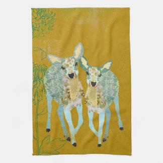 Golden Dearest Deer Towel