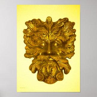 Golden Deity Poster