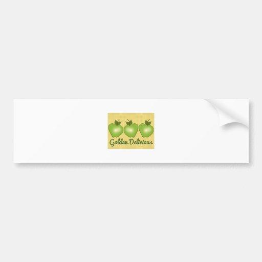 Golden Delicious Bumper Stickers