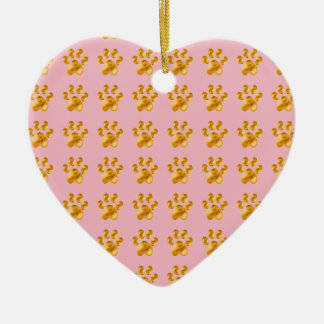 Golden Delicious Cute little paws Christmas Ornament