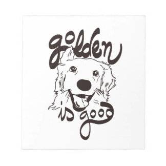 Golden Delicious is Good Notepads