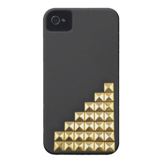 Golden Delicious studs iPhone 4 Cover