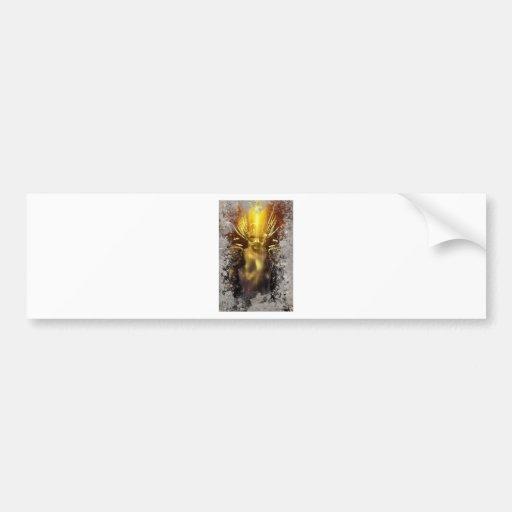 Golden Delicious warrior Bumper Sticker