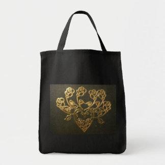 Golden Design Tote Bag