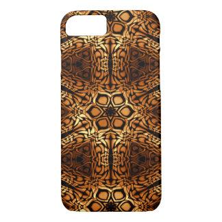 Golden Diamonds Pattern Abstract iPhone 7 Case