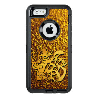 Golden Dog Year Chinese Papercut Greeting O iPhone OtterBox iPhone 6/6s Case