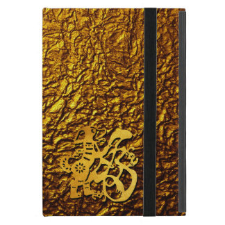 Golden Dog Year Chinese Papercut iPad M Case