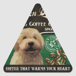 Golden Doodle Brand – Organic Coffee Company Sticker