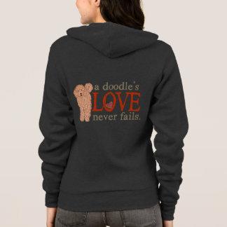 Golden Doodle Love Never Fails Hoodie