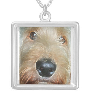 Golden doodle Necklace