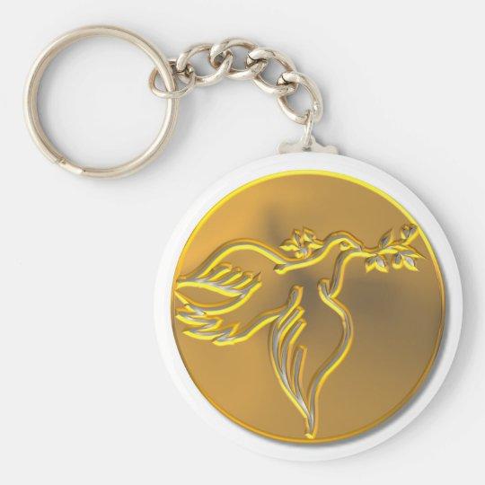 Golden Dove of Peace - Holy Spirit Key