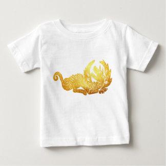 Golden Dragon Baby Fine Jersey T-Shirt