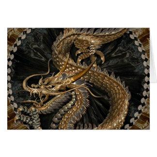Golden dragon tarjeta