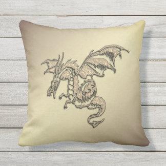 Golden Dragon Cushion
