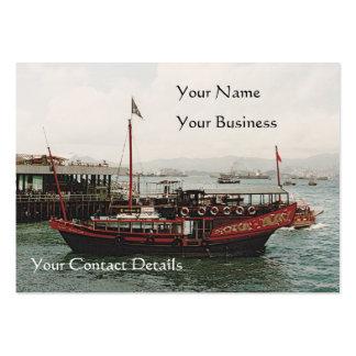 Golden Dragon Ferry Bookmark Business Card