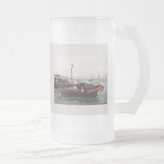 Golden Dragon Ferry Hong Kong Drinks Glass Coffee Mug