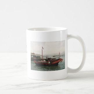 Golden Dragon Ferry Hong Kong Tea Coffee Mug