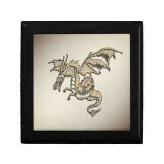 Golden Dragon Gift Box