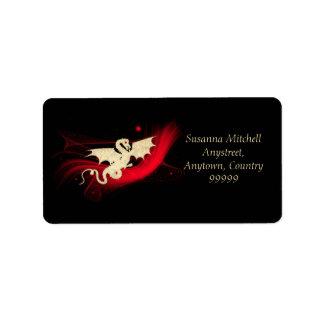 Golden Dragon Label