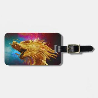 Golden Dragon Luggage Tag