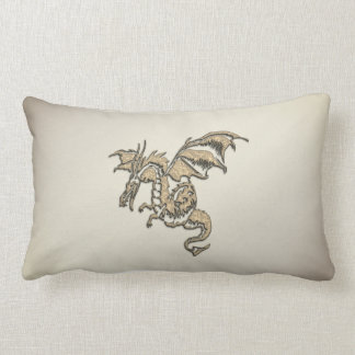 Golden Dragon Lumbar Cushion