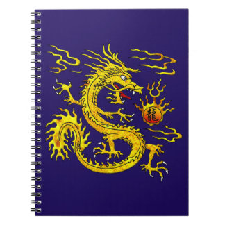 Golden Dragon Notebooks