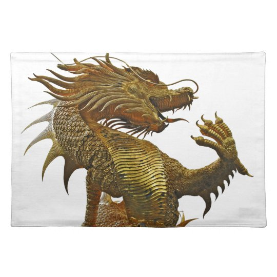 golden dragon place mat
