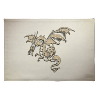 Golden Dragon Placemat