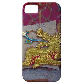 Golden dragon, Singapore Barely There iPhone 5 Case