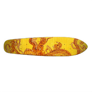 Golden Dragon Skateboard Deck