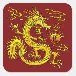 Golden Dragon Sticker