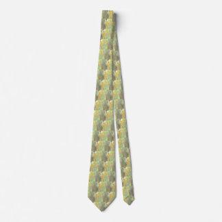 Golden Dragonflies Tie