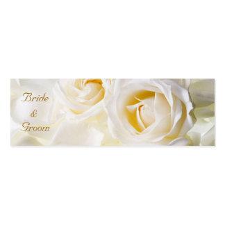 Golden Dream Wedding Favor Tag Pack Of Skinny Business Cards