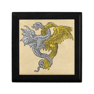 Golden Eagle and Silver Dragon Gift Box