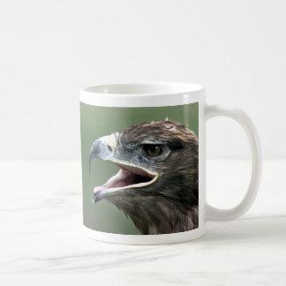 Golden Eagle, (Aquila chrysaetos) Basic White Mug