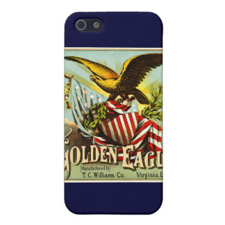 Golden Eagle Chewing Tobacco Label Vintage iPhone 5 Case
