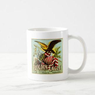 Golden Eagle Chewing Tobacco Label Vintage Coffee Mug