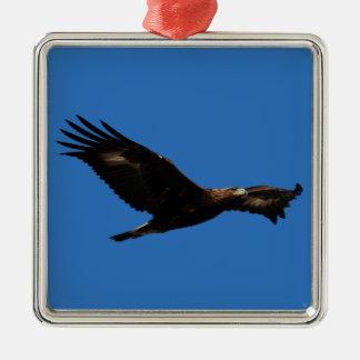 Golden Eagle Christmas Ornament