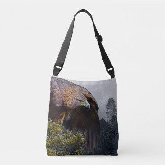 Golden Eagle Crossbody Bag