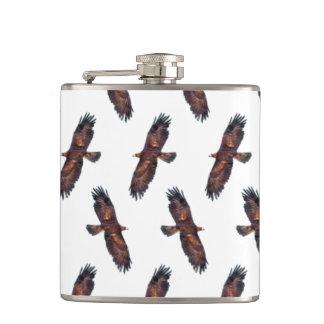 Golden Eagle Frenzy Hip Flask (choose colour)