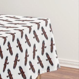 Golden Eagle Frenzy Tablecloth (choose colour)