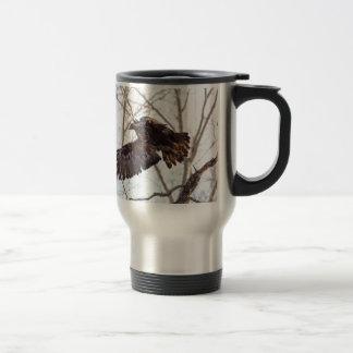 Golden Eagle in Flight Mugs