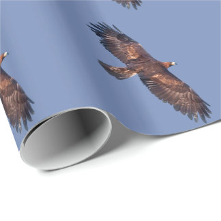 Golden Eagle in Flight Wrapping Paper