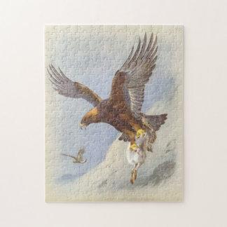 Golden Eagle Jigsaw Puzzle