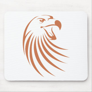 Golden Eagle Logo Mouse Mat
