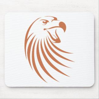 Golden Eagle Logo Mouse Pad